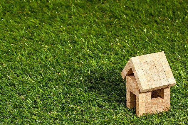 domek na trave stavebnice