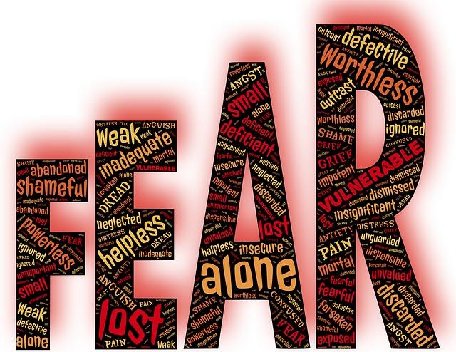 slova, strach