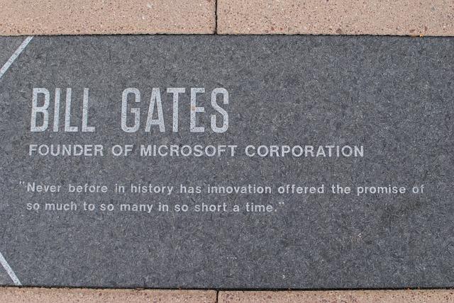 Citát Billa Gatese