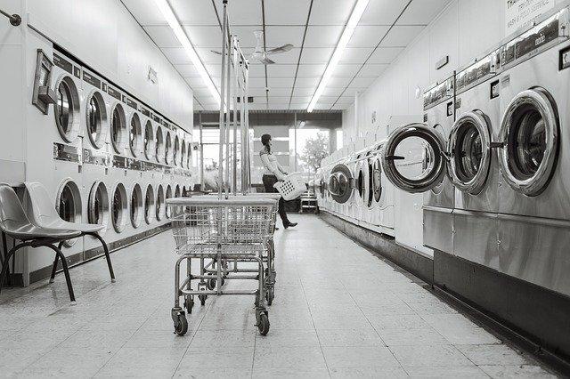 společná prádelna