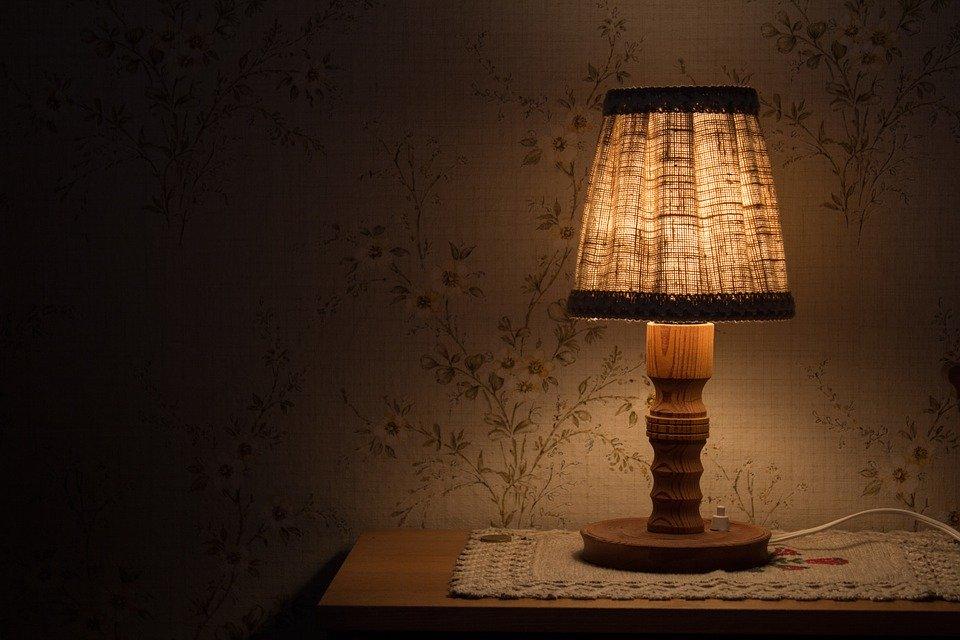 lampička svítící