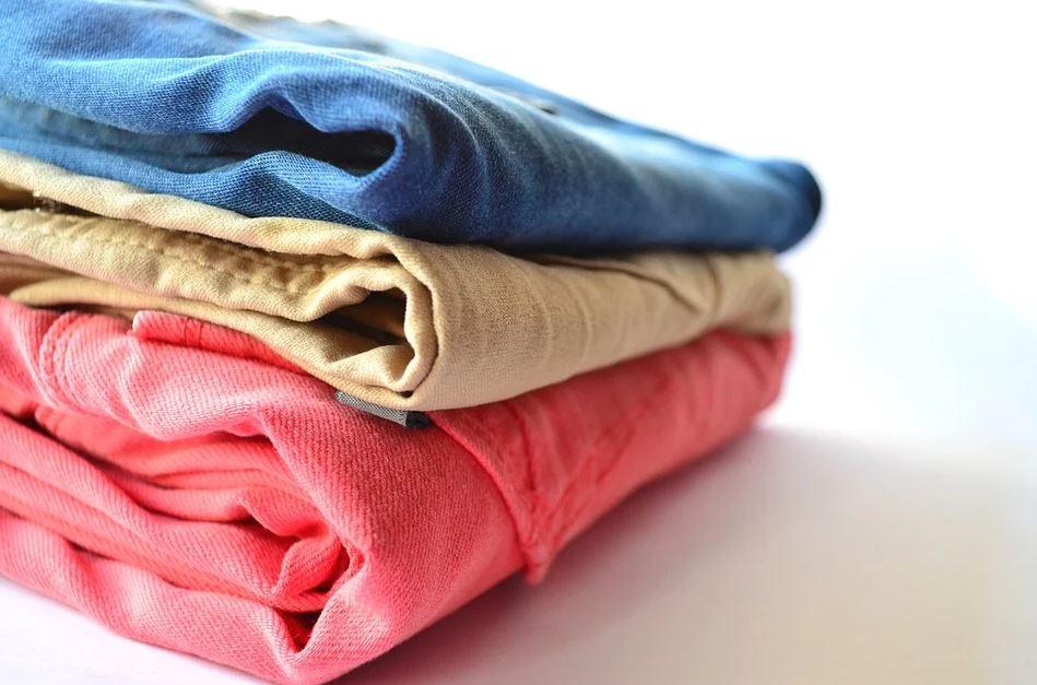 ukládání oděvů